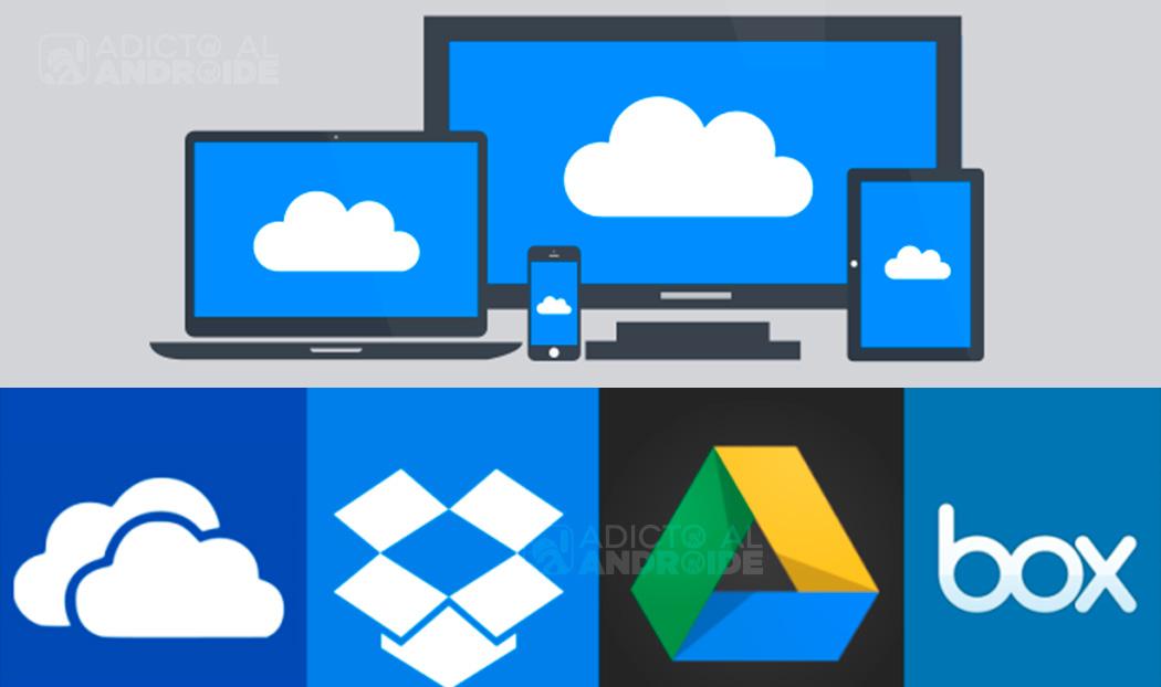 Aplicaciones android para guardar archivos en la nube