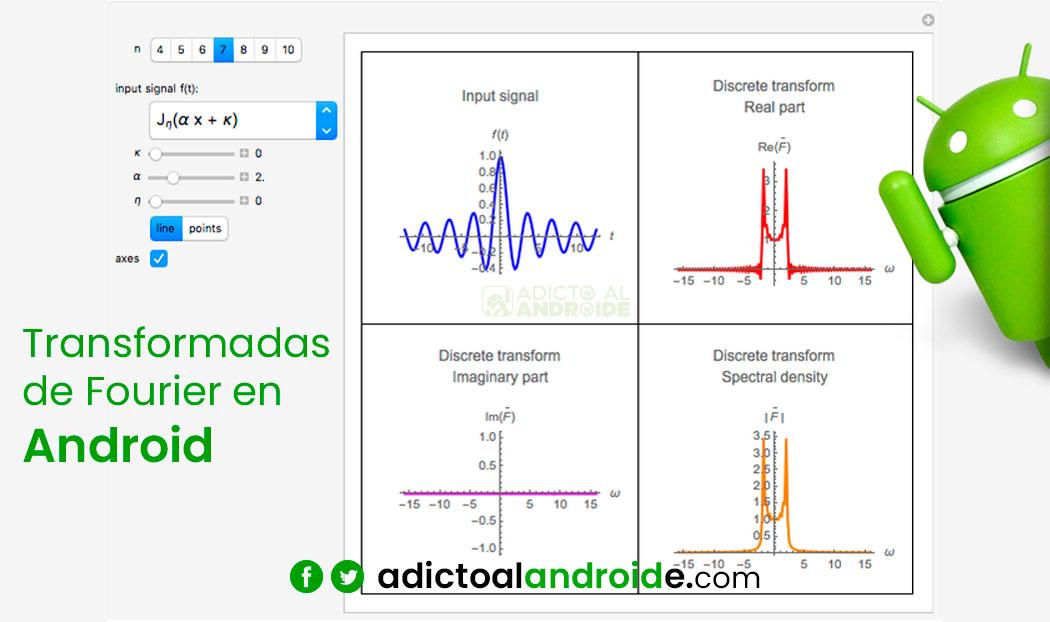 Aplicaciones de Transformadas de Fourier en Android