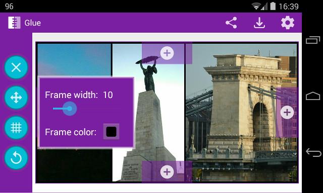 Glue la forma mas fácil de crear collages en Android