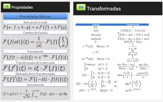 transformada fourier android