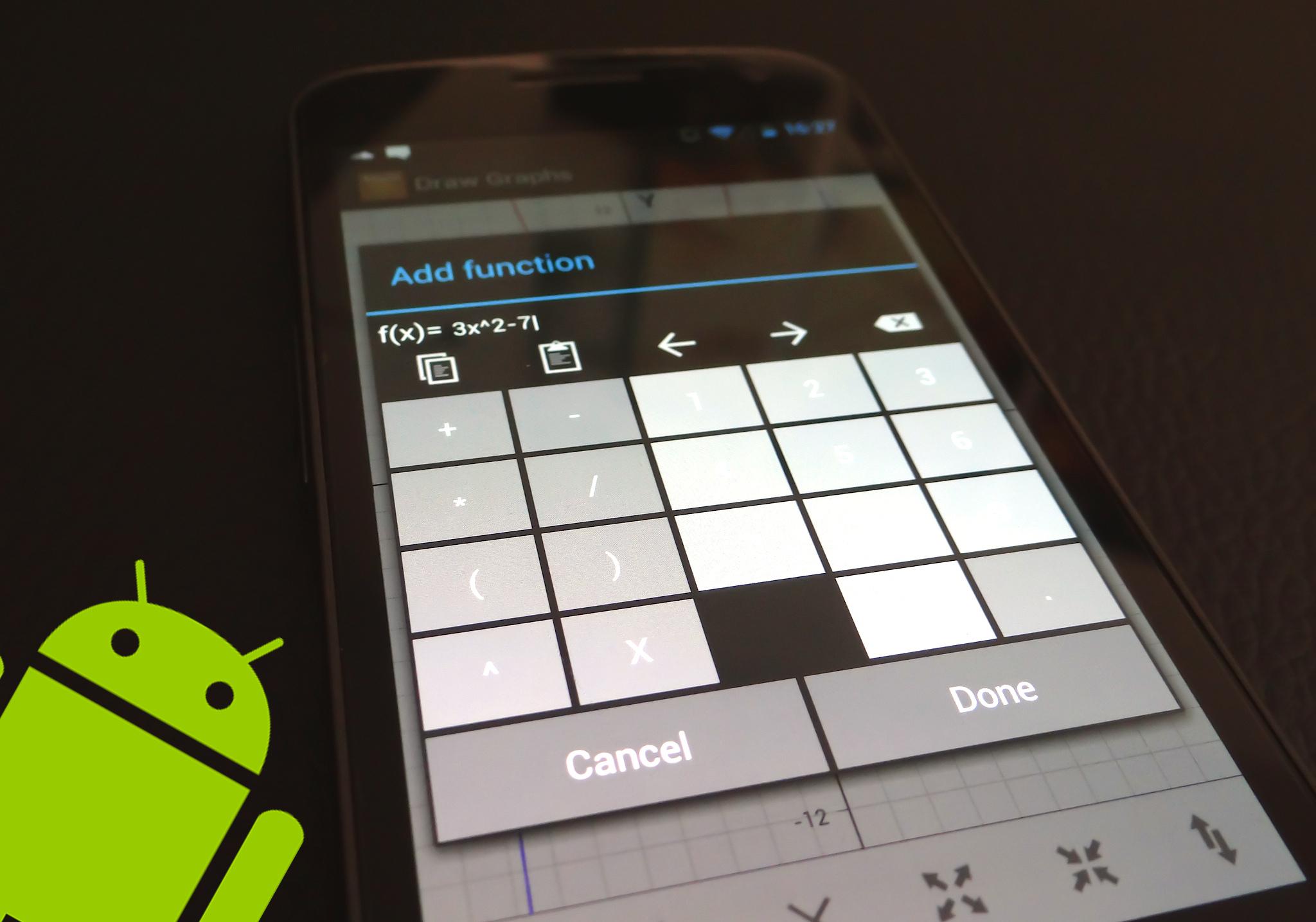 Las mejores aplicaciones Android para resolver Integrales, derivadas y límites