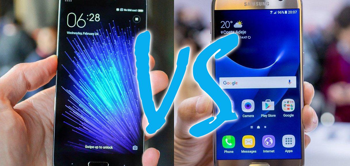 Samsung Galaxy S7 vs Xiaomi Mi5 - Adicto al Androide