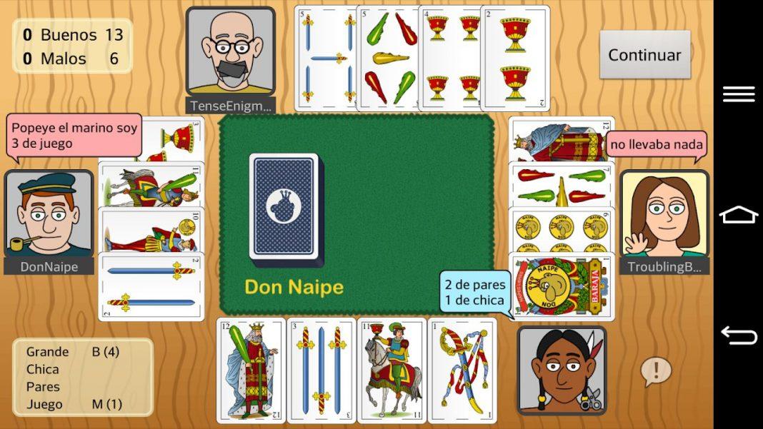Juegos de cartas que perduran en el tiempo