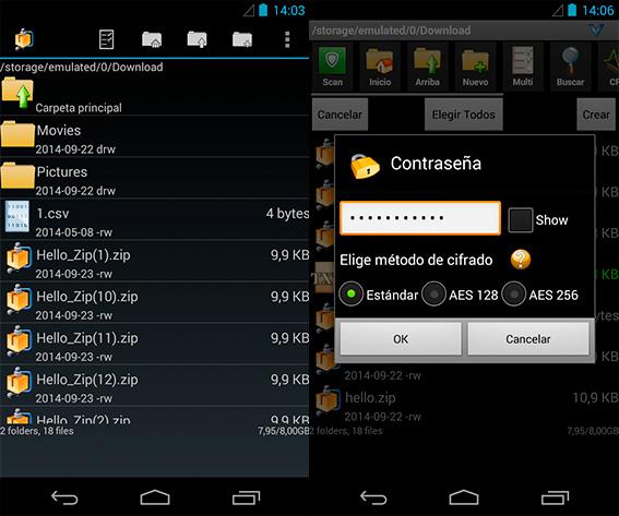 Aplicaciones para comprimir y descomprimir archivos