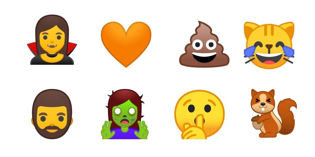 Emojis en Android nuevos, gracias a Google