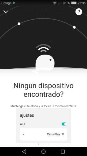 Aplicación para controlar android tv box