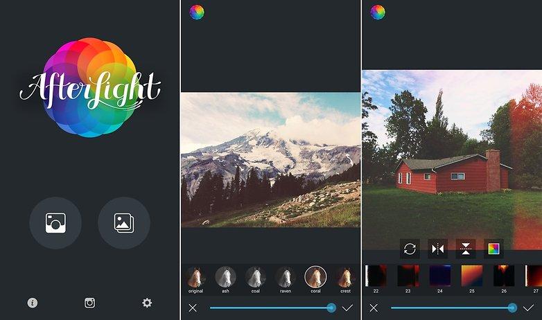 Las Mejores Aplicaciones para EDITAR FOTOS GRATIS - Afterlight