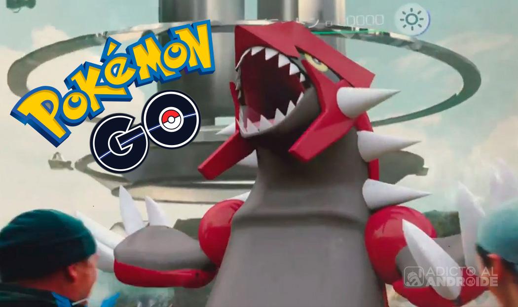 Cómo capturar a Groudon en Pokémon GO