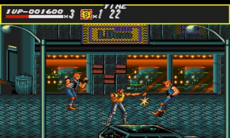 Streets Of Rage Para Android