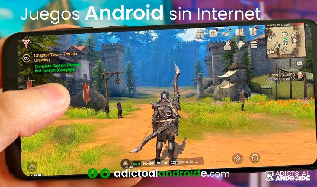 juegos para Android que no necesitan Internet