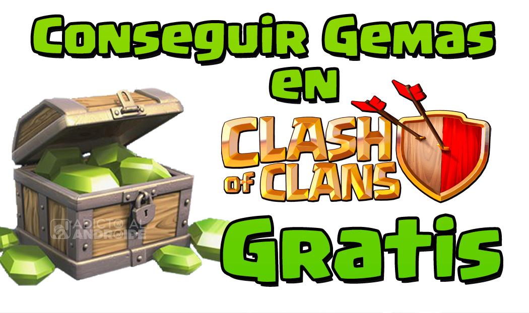 conseguir Gemas en Clash Of Clans de forma gratuita