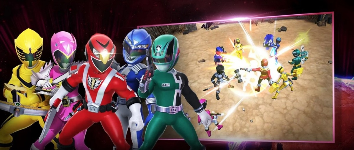 Power Rangers android