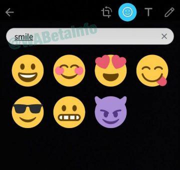 Búsqueda de stickers en WhatsApp