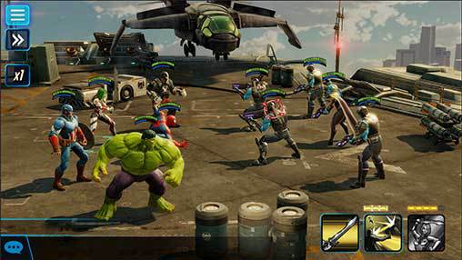Marvel Strike Force llega a Android