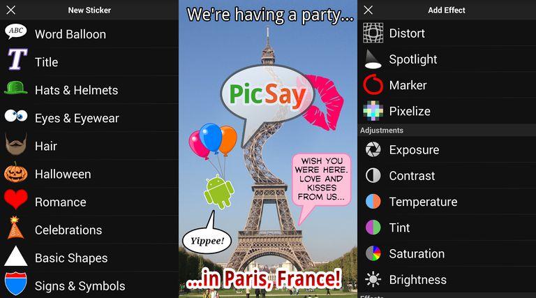 picsay - Las Mejores Aplicaciones para EDITAR FOTOS GRATIS
