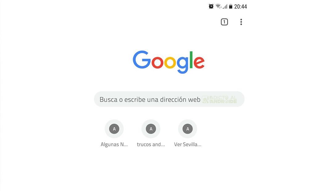 nuevo diseño Modern Design de Chrome