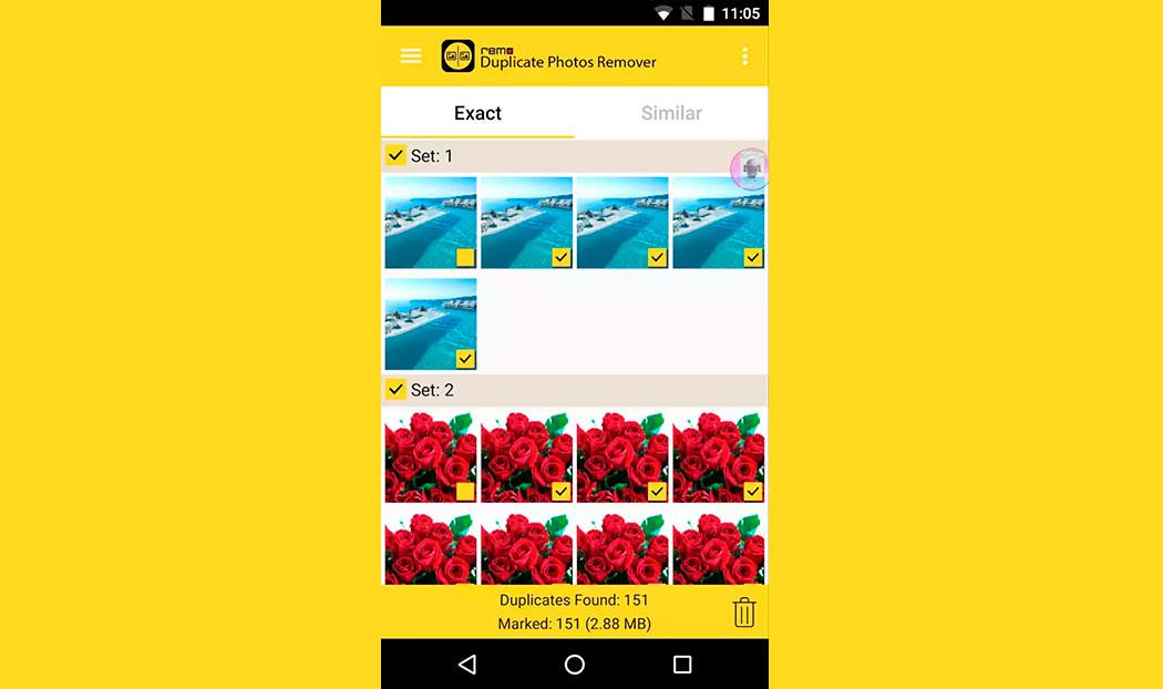 Cómo borrar archivos duplicados en Android