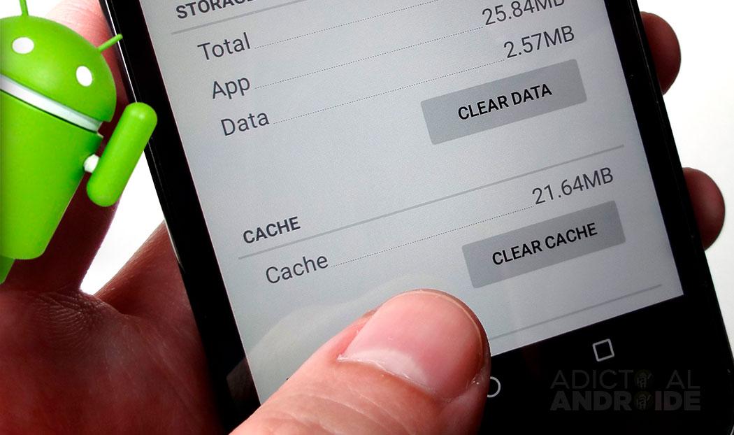 Cómo borrar el cache en Android