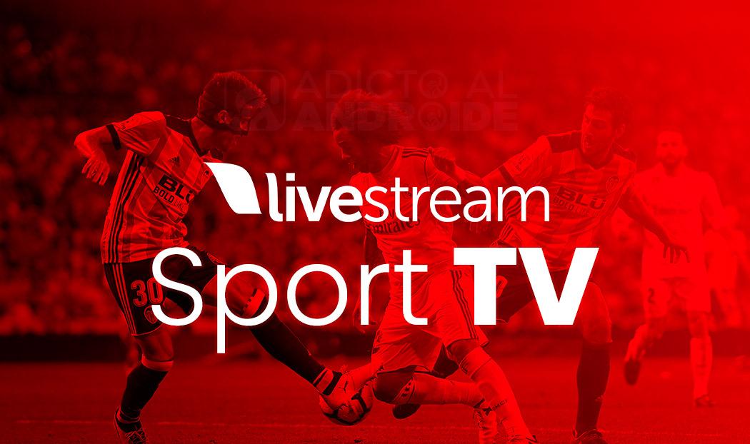 livestream - ver fútbol en directo en Android