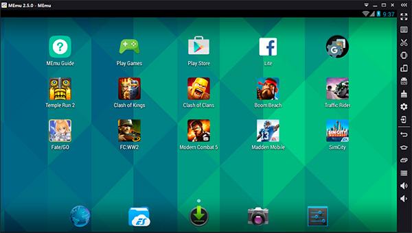 MEmu - emuladores de Android para PC