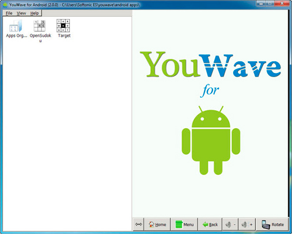 YouWave - Emuladores Android para PC
