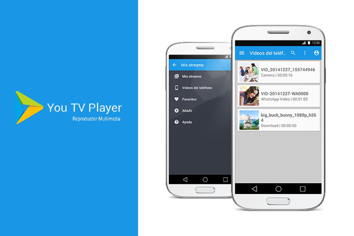 you tv player GRATIS para android actualizado